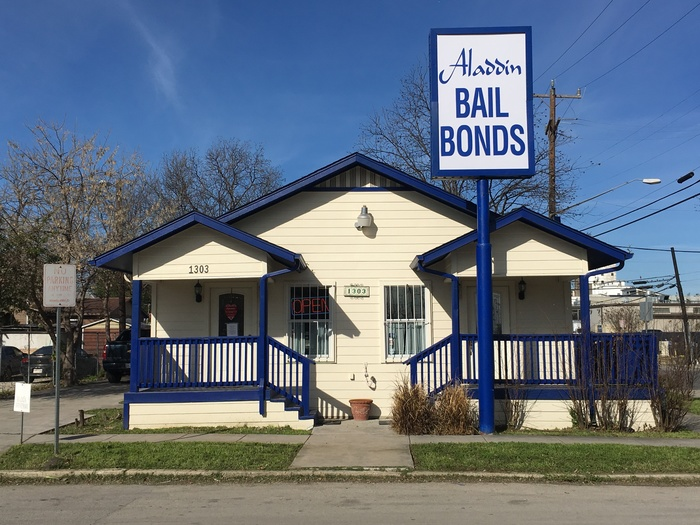 Aladdin Bail Bonds San Antonio External Building
